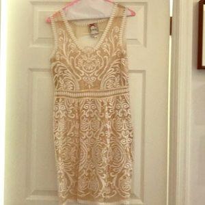 Yoana Baraschi Lace White Dress